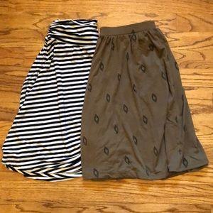 Dresses & Skirts - Lot of 2 Knee Length Skirts